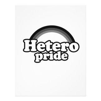 HETERO PRIDE T-SHIRT FLYER DESIGN