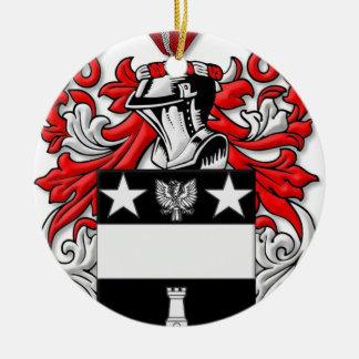 Hetzer Coat of Arms Round Ceramic Decoration