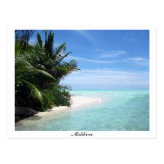 Hevaaholhudhoo Island Maldives Postcard