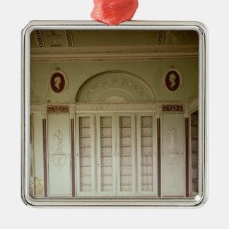 Heveningham Hall, Suffolk: library, 1778-80 Christmas Ornament