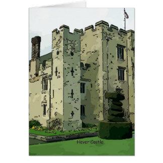 Hever Castle Design 2 Card