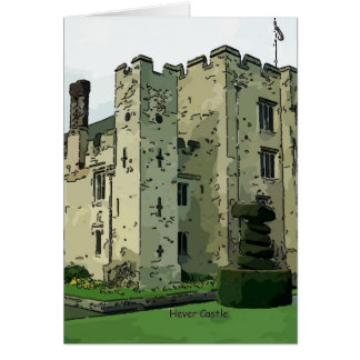 Hever Castle Design 2 Greeting Card
