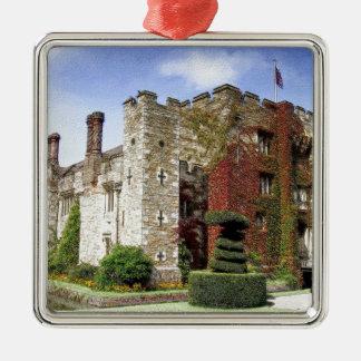 Hever Castle, Kent, England Silver-Colored Square Decoration