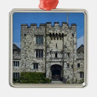 Hever Castle Silver-Colored Square Decoration