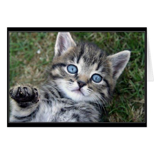 """Hewwo"" Kitty Card"
