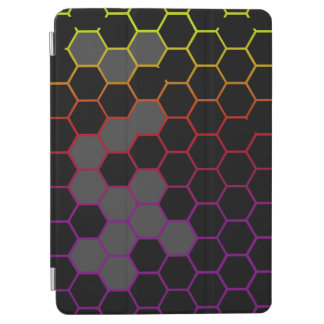 Hex Color with Grey iPad Air Cover