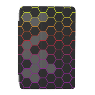 Hex Color with Grey iPad Mini Cover