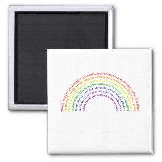 Hex Rainbow Magnet