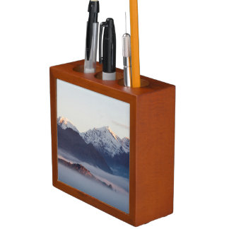 Hex River Mountains At Sunrise, Western Cape Desk Organiser