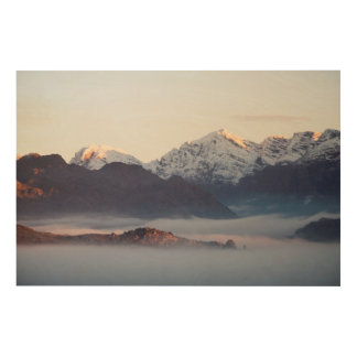 Hex River Mountains At Sunrise, Western Cape Wood Wall Decor
