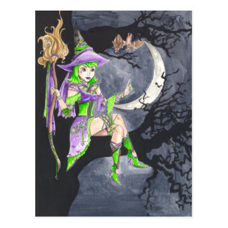 Hexaba and the Bats Postcard