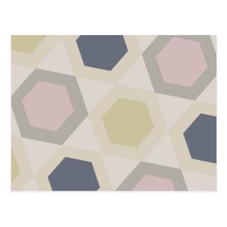 Hexagon Bliss Post Cards