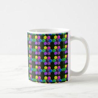 HEXAGON Colorful BUTTONS - COOL LOWPRICE Mug