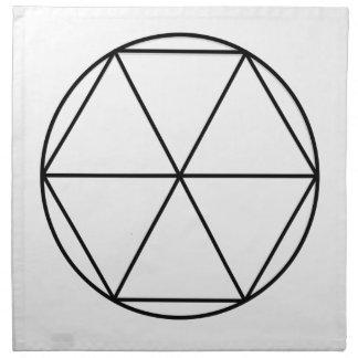 Hexagon Gem3 Napkin