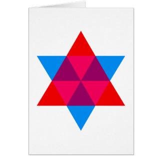 Hexagon hexagon cards