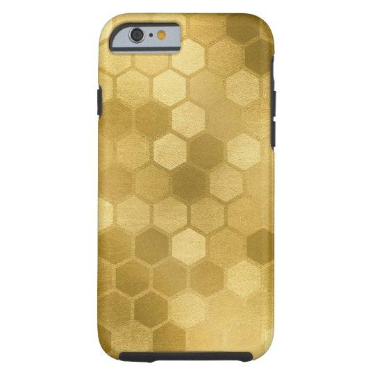 Hexagon Honeycomb neutral earth tones Tough iPhone 6