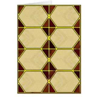 Hexagon Note Card