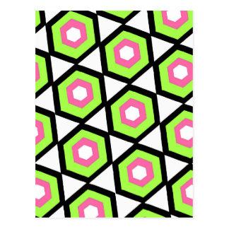 Hexagon Postcard