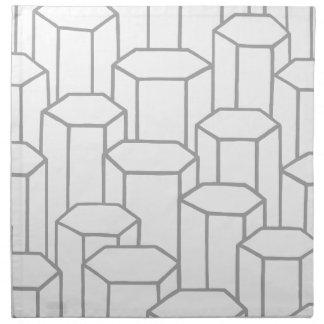 Hexagonal Columns Napkin