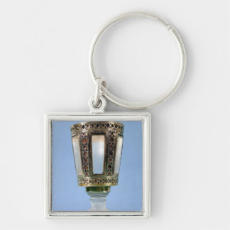 Hexagonal cup key ring
