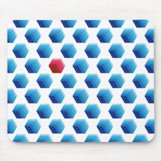 Hexagonal Forms mousepad