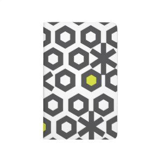 Hexagonal Pattern Block Notes Journal