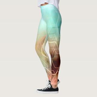 Hexagonal Rainbow Leggings