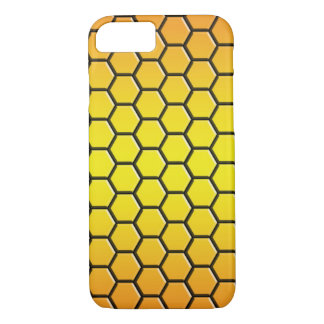 hexagone case for iPhone 7(orange)-Barely There