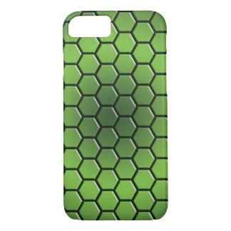 hexagone case-(green) iPhone 7 case