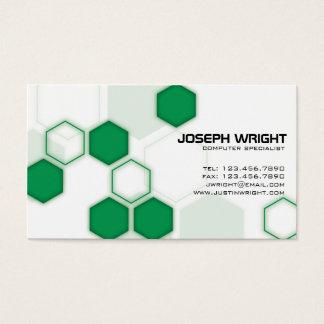 Hexagons - Green