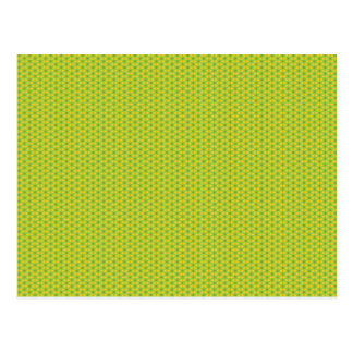 Hexagons pattern postcard