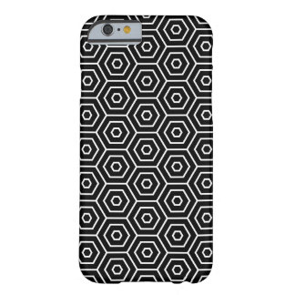 Hexagons texture geometric pattern barely there iPhone 6 case