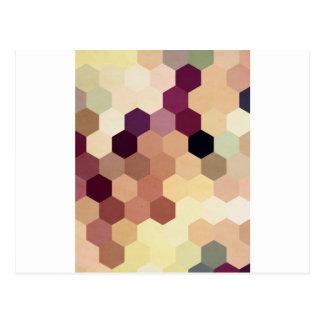Hexagons VI Postcard