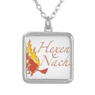 Hexennacht Square Pendant Necklace