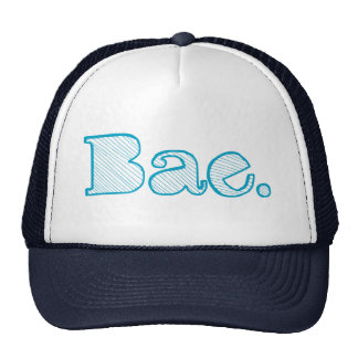 Hey Bae. girlfriend boyfriend slang Cap