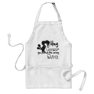 Hey Brain Cancer You Picked The Wrong Diva Aprons