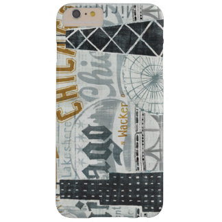 Hey Chicago Vintage Barely There iPhone 6 Plus Case