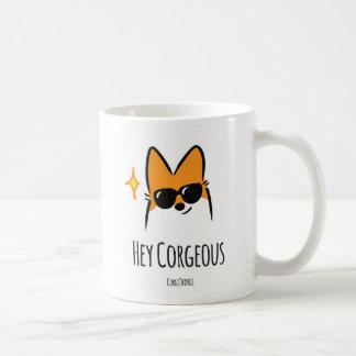 Hey Corgeous Mug