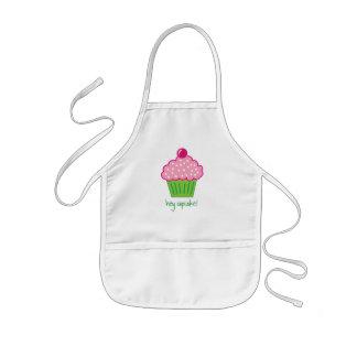 hey cupcake! kids' apron