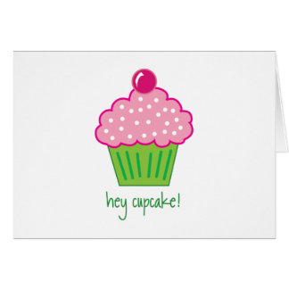 hey cupcake! card