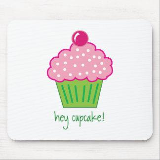 hey cupcake! mouse pad