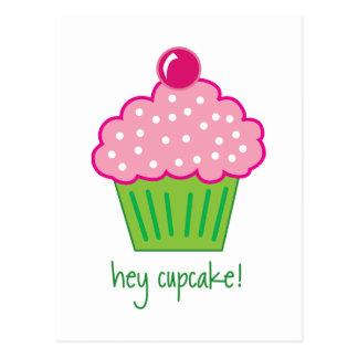 hey cupcake! postcard