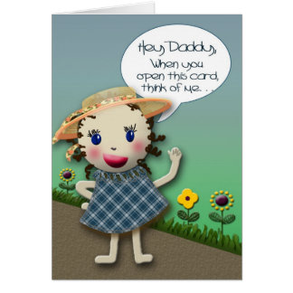 Hey Daddy - Birthday Card