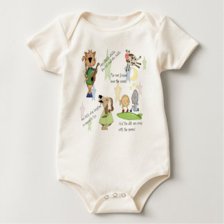 Hey Diddle Diddle - Infant Organic Creeper