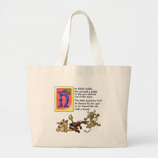 Hey Diddle Diddle Jumbo Tote Bag