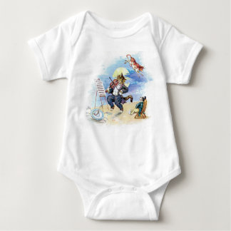 Hey, Diddle Diddle Nursery Rhyme Baby Bodysuit