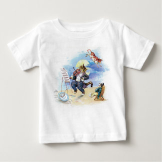 Hey, Diddle Diddle Nursery Rhyme Baby T-Shirt