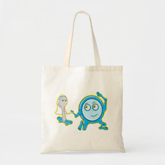Hey Diddle Diddle Nursery Rhyme Design For Girls Budget Tote Bag