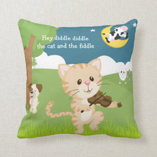 Hey Diddle Diddle Nursery Rhyme Pillows