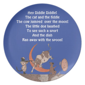 Hey Diddle Diddle! Plates